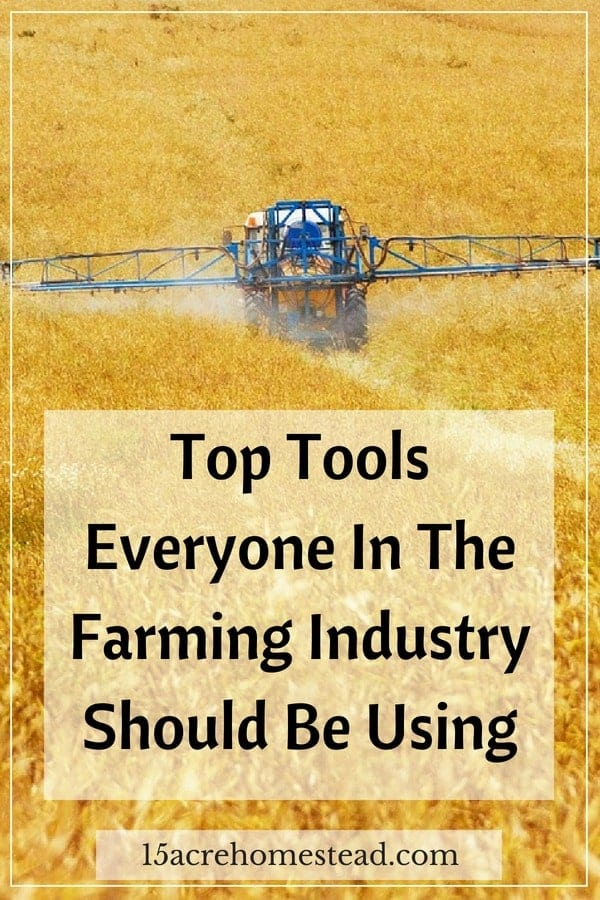 For a farmer who is just starting out, here are the top tools you need to get right now.