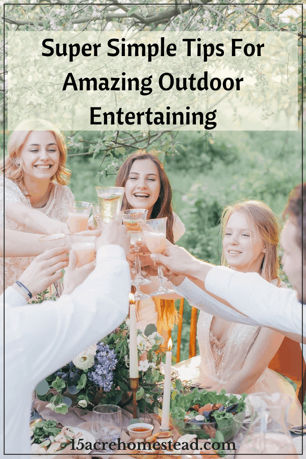Try these amazing tips for creating an amazing space for your outdoor entertainment.