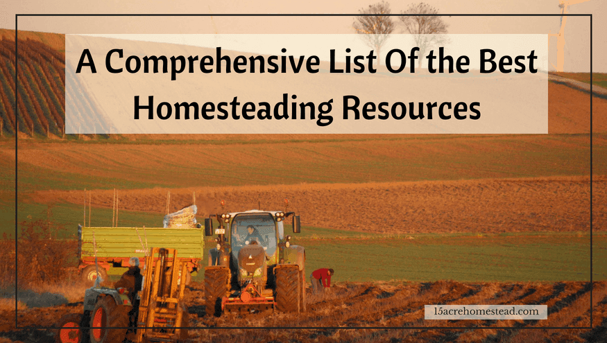 best homesteading resources