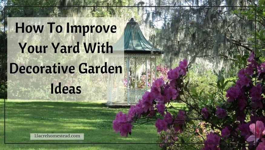 decorative garden ideas