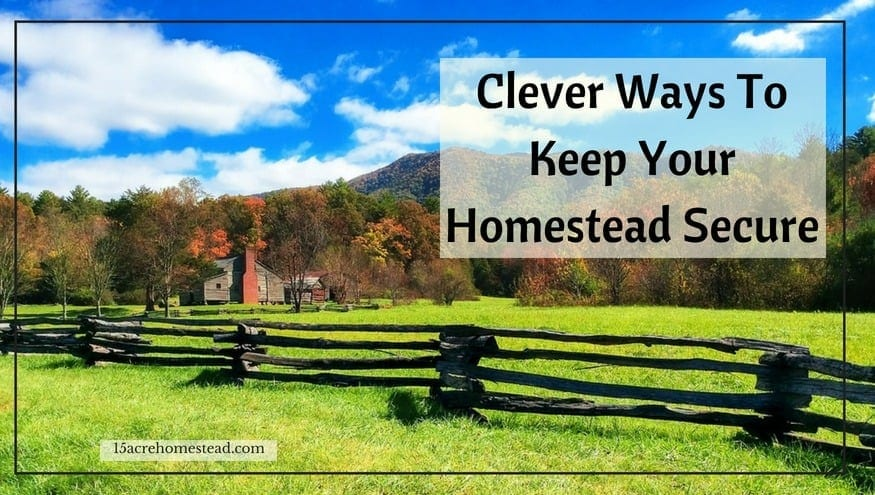 keep your homestead secure