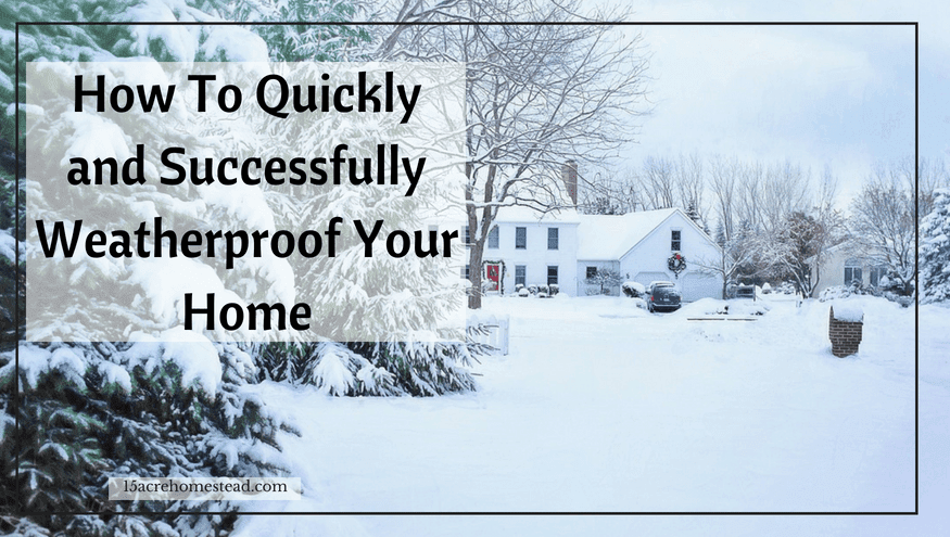 weatherproof your home