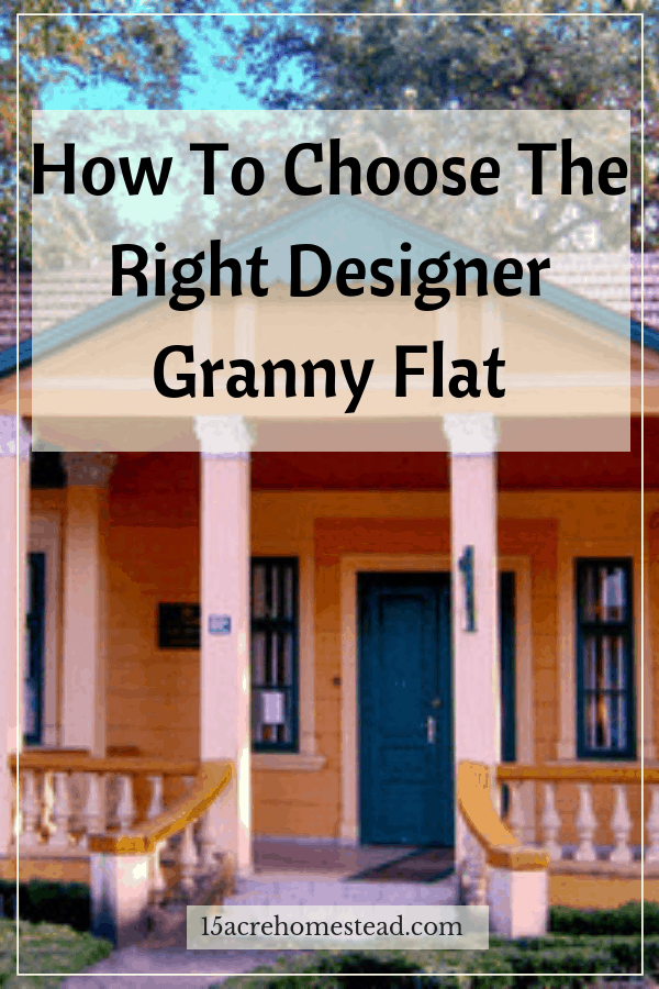 A designer granny flat is particularly popular because they add a touch of style to your property.