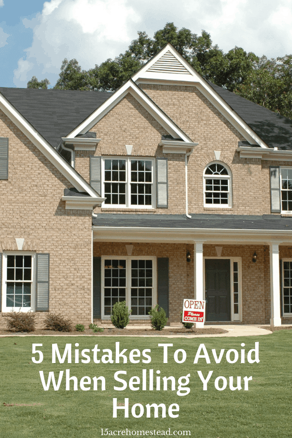 Here are just a few mistakes to avoid when selling your home in order to save money and speed up the process.