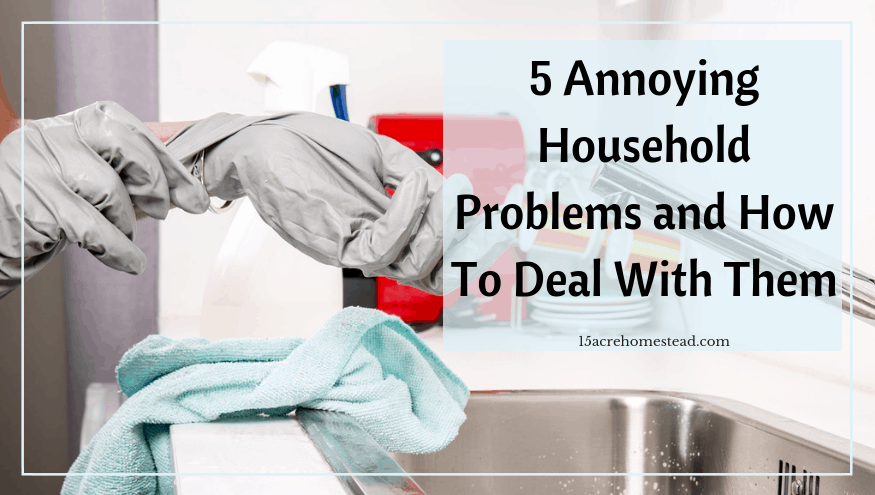 annoying household problems