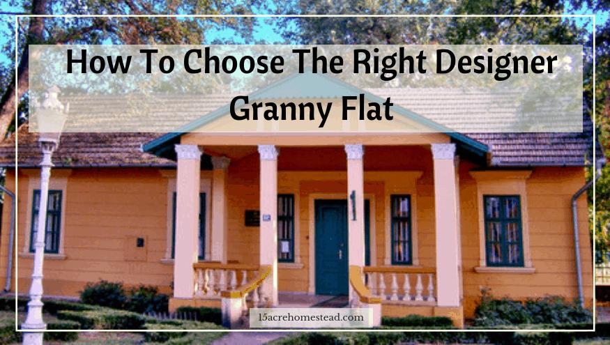 designer granny flat