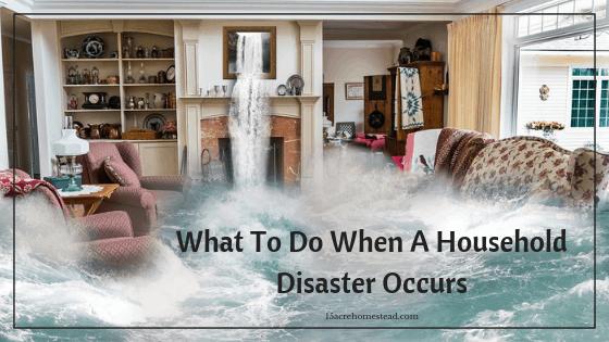 household disaster
