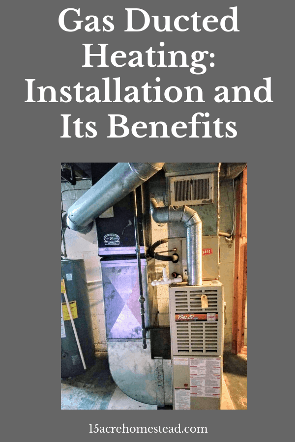 Gas ducted heating is an alternative to the bulky boiler systems in many older homes. It can be very cost efficient after the initial expense.