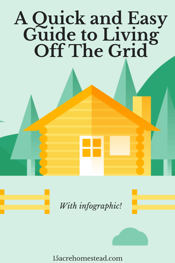 Living off the grid has incredible benefits! It allows you to live a simple life, away from the complications that city life can bring and without excess.