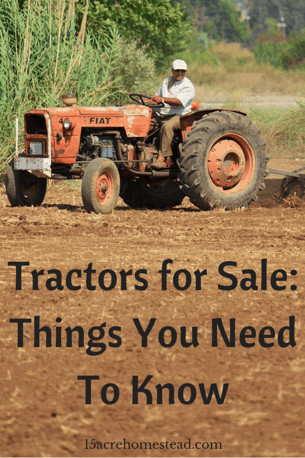 The most important machinery are tractors. Thus there are a few factors that you must keep in mind before investing in one.