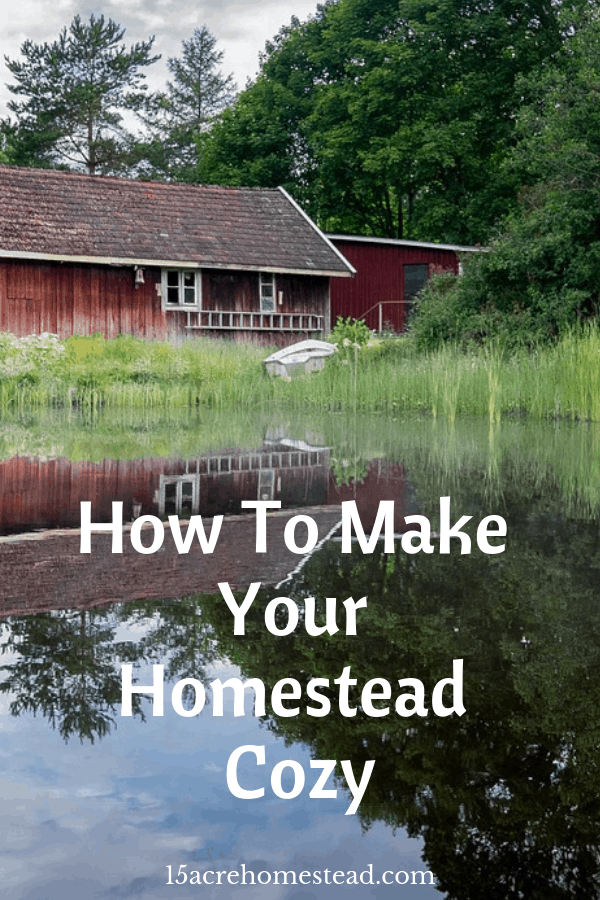 There are so many cozy touches that you can make to your homestead right now that will make it feel revitalized and uplifting right now.