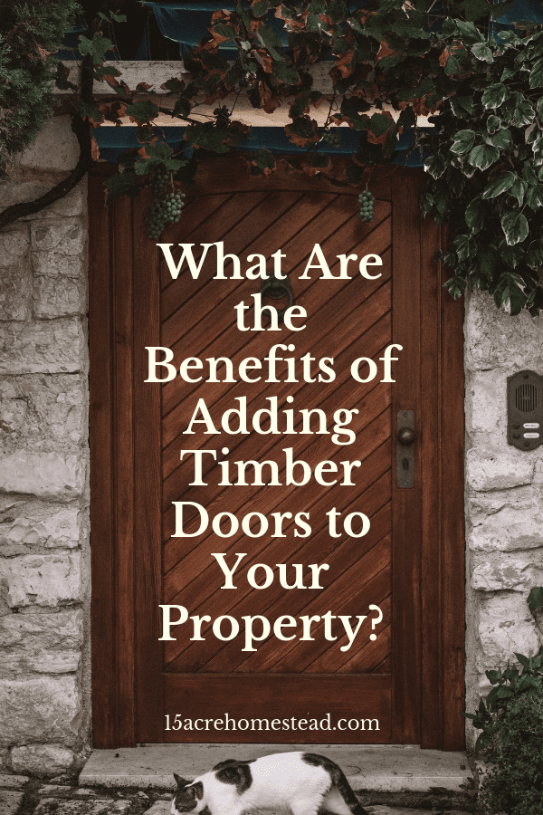 Timber is so widely used. Apart from adding to the overall aesthetic value of your home, timber doors also have multiple other benefits.