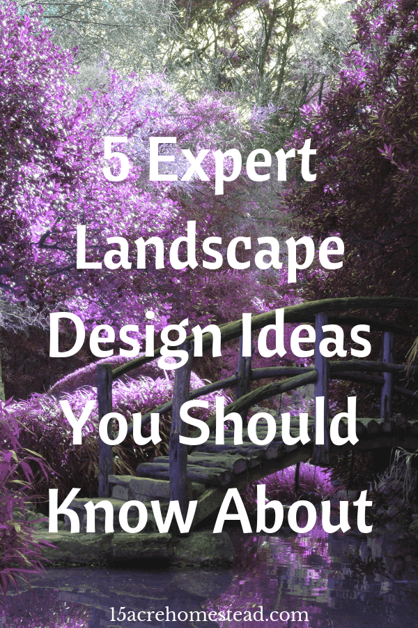 Using expert landscape design ideas is a great way to improve your home's value while enjoying the view at the same time.
