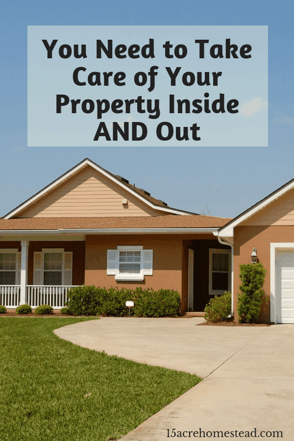 It is as important to take care of your property on the interior as well as the exterior. These tips should help you manage.