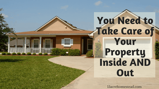 take care of your property