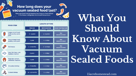 vacuum-sealed foods