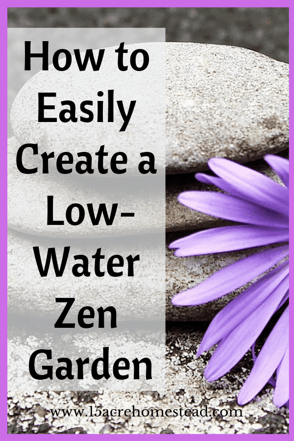 A low-water Zen garden is one of the best ideas in the world. It is something that will help you take your comfort to a whole new level.