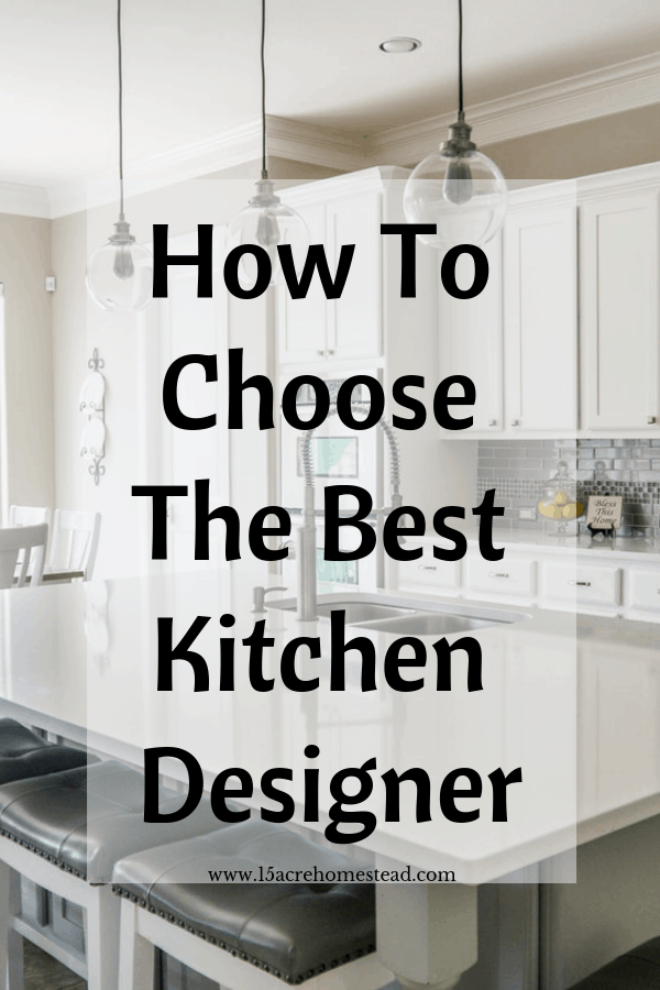 A talented designer can help you install modern technologies to make your kitchen easy to use and efficient.e.