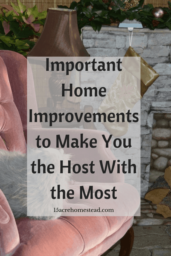 By doing a few important home improvements before the holidays, you can ensure success for your festivities.