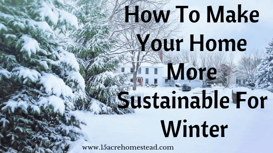sustainable for winter