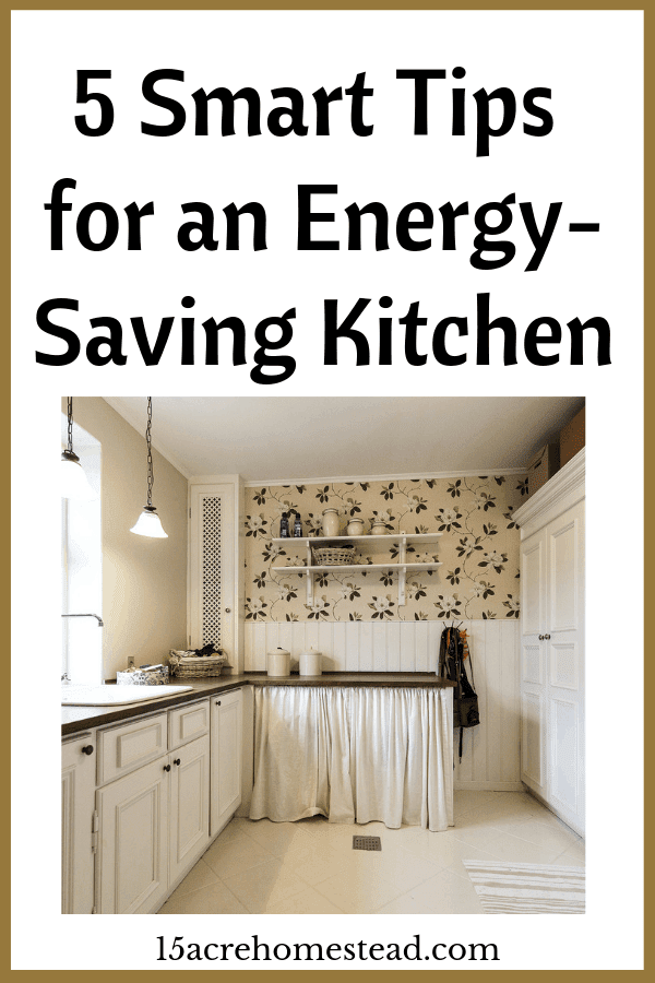 _Follow these tips to have an energy-saving kitchen in your home. Saving energy is important for the environment and saves money too.