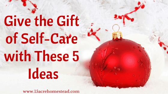 self care christmas gifts