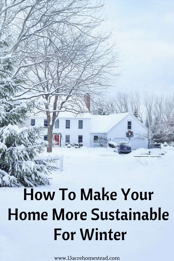 Keeping your carbon emissions low in the summer is easy. But the winter has its challenges.