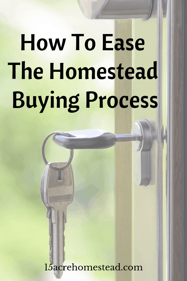 Strange things happen in the real estate business. But you can ease the homestead buying process with a few steps.