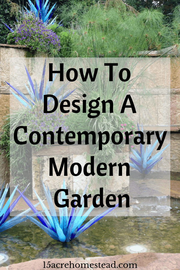When it comes to a modern garden design, you can definitely make the most out of the space you have in order to create a very stylish garden and elegant yet comfy exterior.
