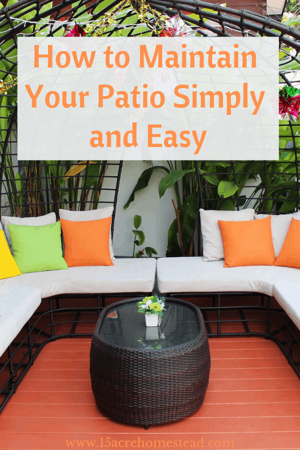 When it comes to patios, there are many benefits and hardly any downsides.