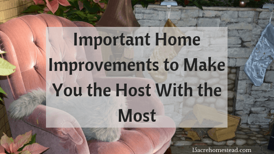 important home improvements