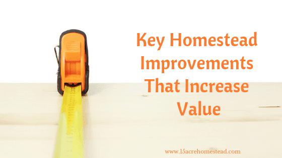 key homestead improvements
