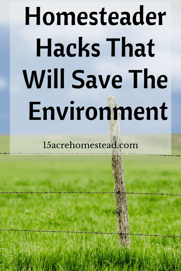 We, homesteaders, tend to be practical people. And as such, the opportunity to kill two birds with a single stone is attractive to us. Especially when it means doing the environment well, as well as saving money.
