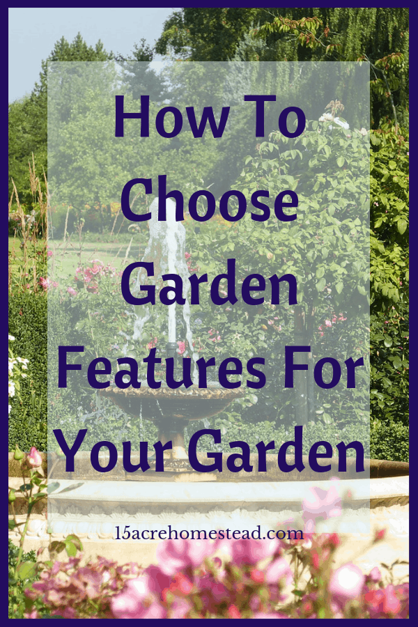 The features of your garden should pop. They should be the thing that catches your eye, even only if you are walking past a window.