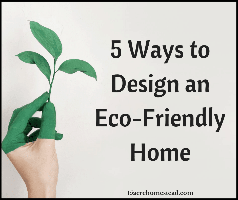5 Ways To Design An Eco-Friendly Home