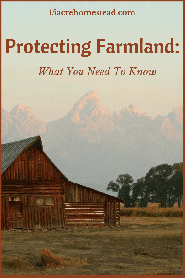 Protecting farmland is, in many ways, like protecting a new home. You have a lot of assessing to do. There are numerous risks.