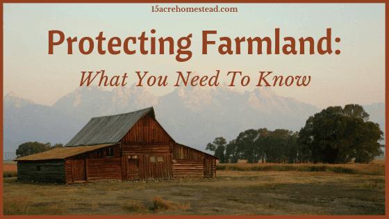 protecting farmland