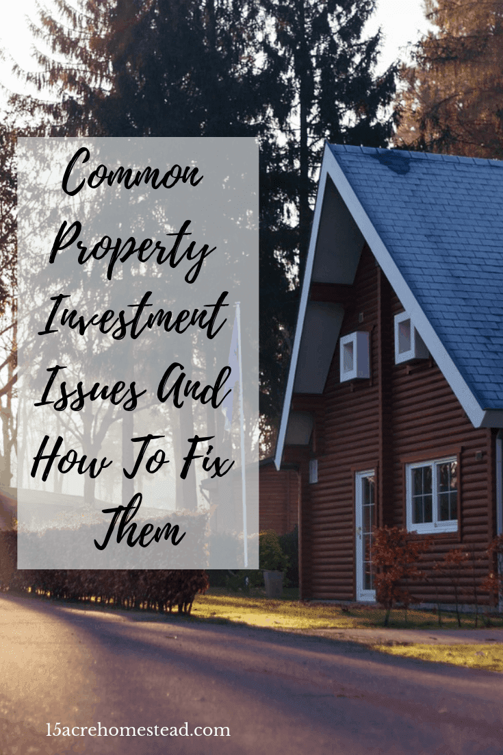 Have you considered property investment as a source of income? It is a great way to make money and invest in your future. Read 3 common issues and how to fix them before you jump in!