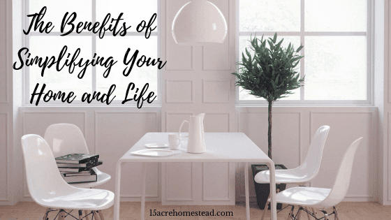 simplifying your home