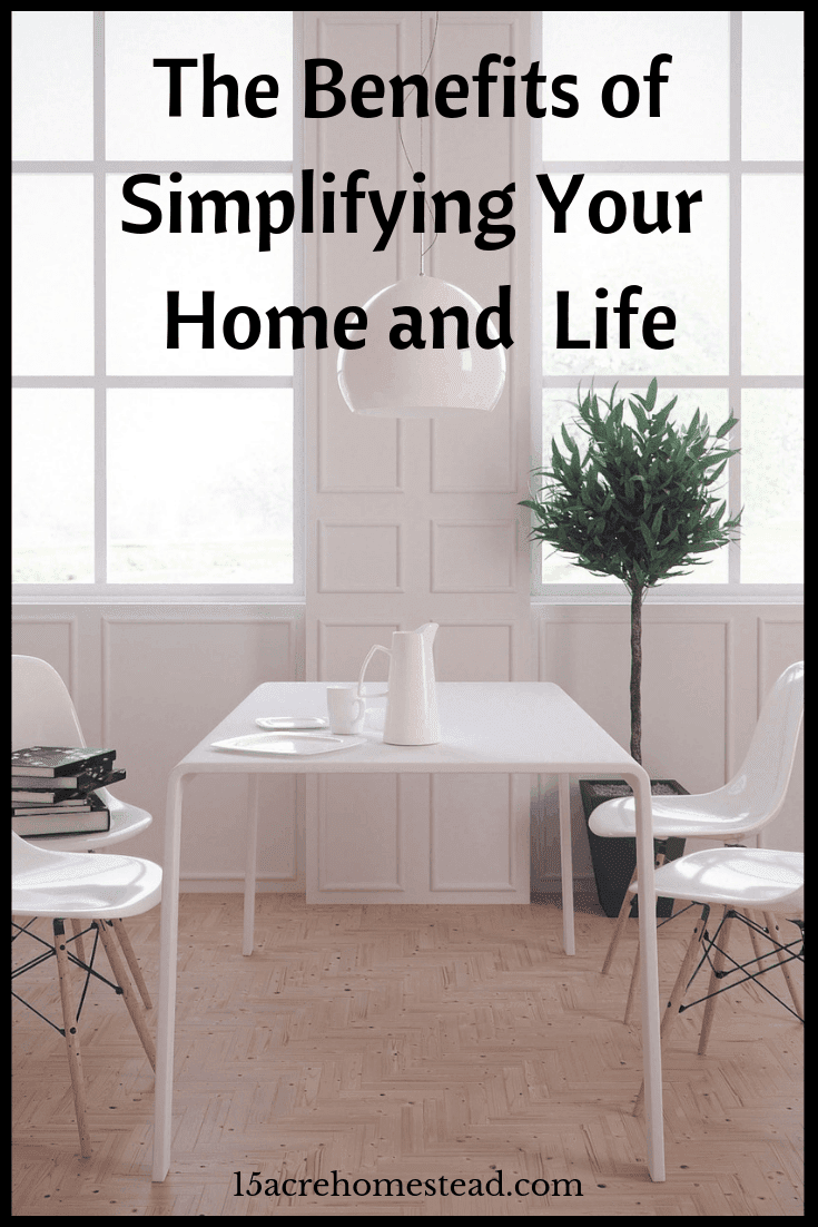 Simplifying your home is about changing your life in a way that works for you and your family and doesn't cause life to be 1000% harder.