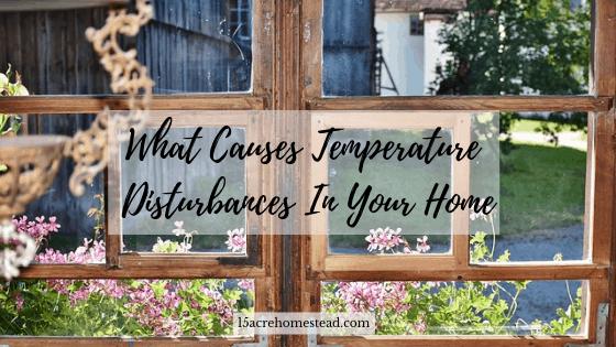 temperature disturbances