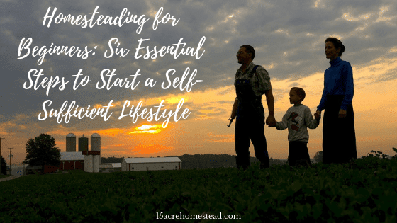 self-sufficient lifestyle