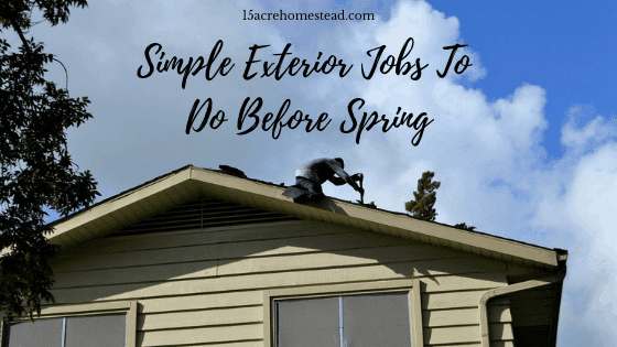 simple exterior jobs
