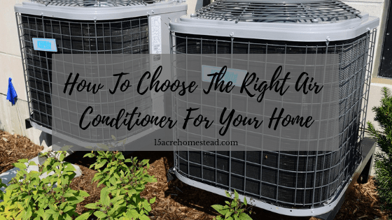 One option of an air conditioner for your home.