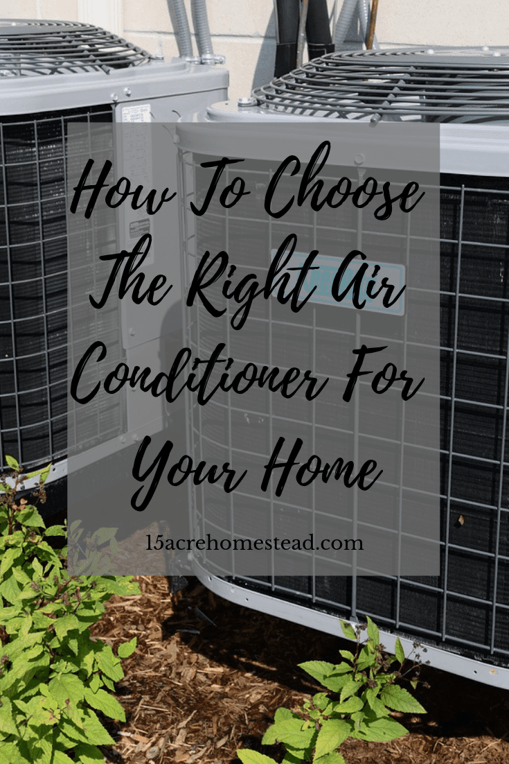 You may want to ask yourself these 4 questions before you choose an air conditioner for your home. Then you will know you made the best choice.