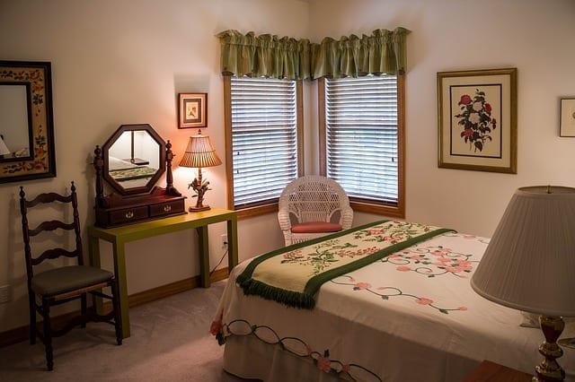 bedroom for houseguests