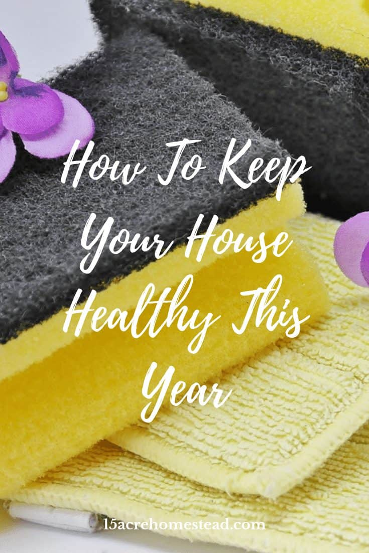 Sometimes the best methods to keep your house healthy and tidy are the simplest.