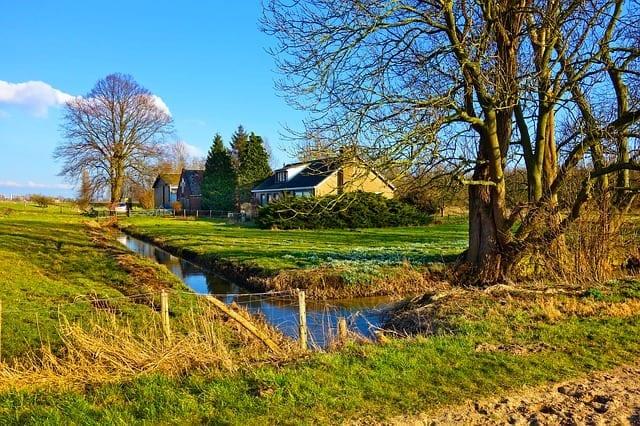 rural view of farm