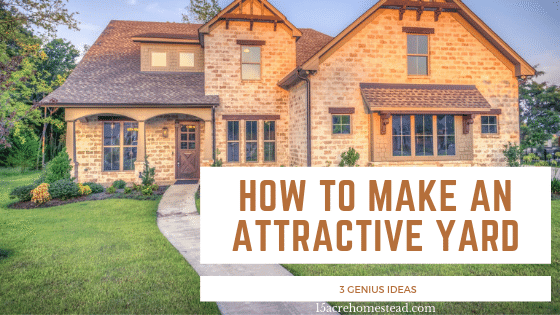 How to Make An Attractive Yard