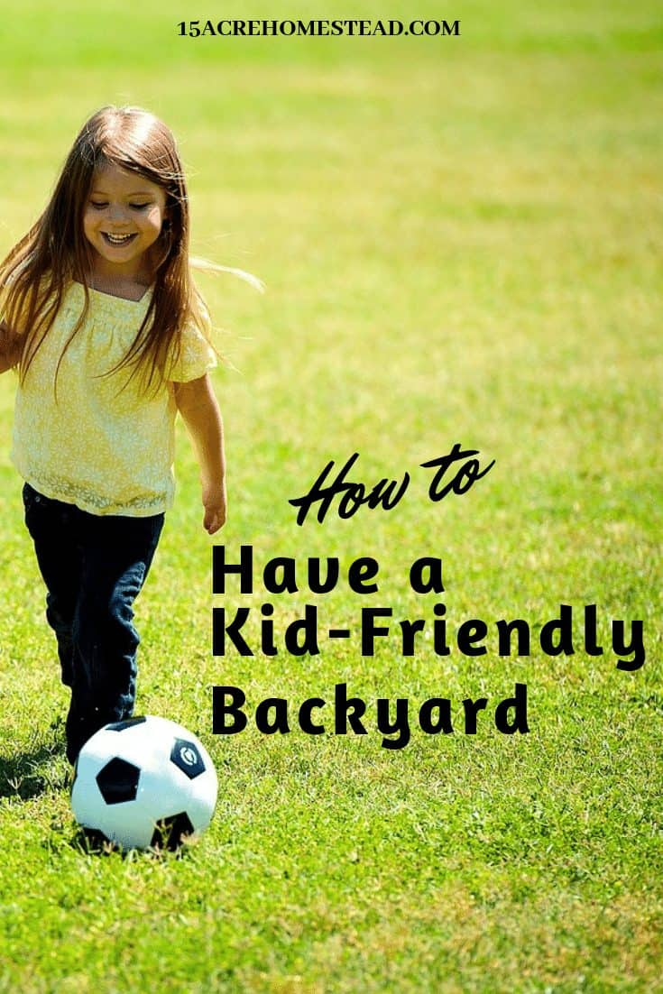 Even if you don't flood your kid-friendly backyard with toys, you can definitely create something that kids would enjoy as much as adults.
